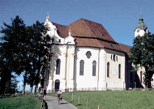 Die Wieskirche in Pfaffenwinkel